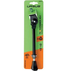 """Ursus Elegance Adjustable Kickstand - Short 16-24"""", Black"""