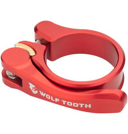 Wolf Tooth Components Wolf Tooth Components Quick Release Seatpost Clamp - 28.6mm, Red