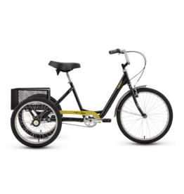 iZip iZip Tristar 3-speed, Adult Trike, Black