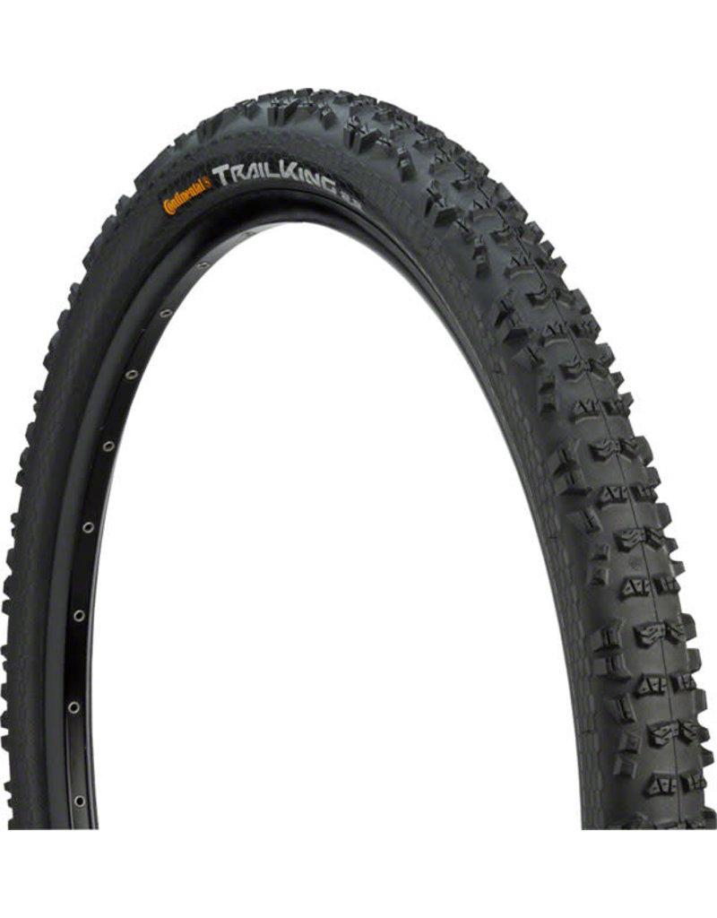 Continental 27.5x2.4 Continental Trail King Tire, Clincher, Wire, Black
