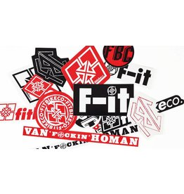 Fit Bike Co FIT Mixed 15 Sticker Pack