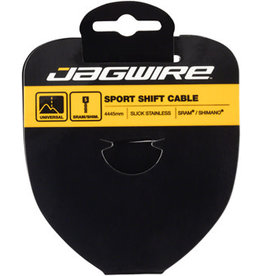 Jagwire Jagwire Sport Shift Cable - 1.1 x 4445mm, Slick Stainless Steel, For SRAM/Shimano Tandem
