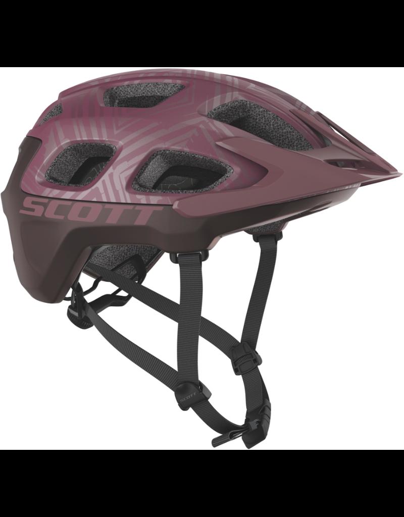 Scott Scott Helmet Vivo Plus (CPSC), Large, Cassis Pink/Maroon Red