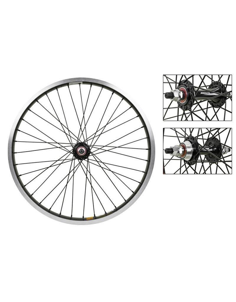 Sun Ringle Sun Rhyno Lite Wheel Set 20x1.75 406x22 Black 36h Sealed 3/8 Black 110mm 2.0 Black