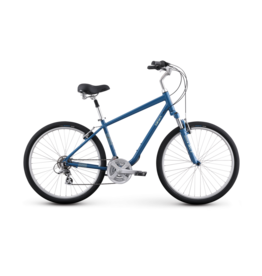 iZip iZip Zest Comfort Bike, Cerulean Blue, Large