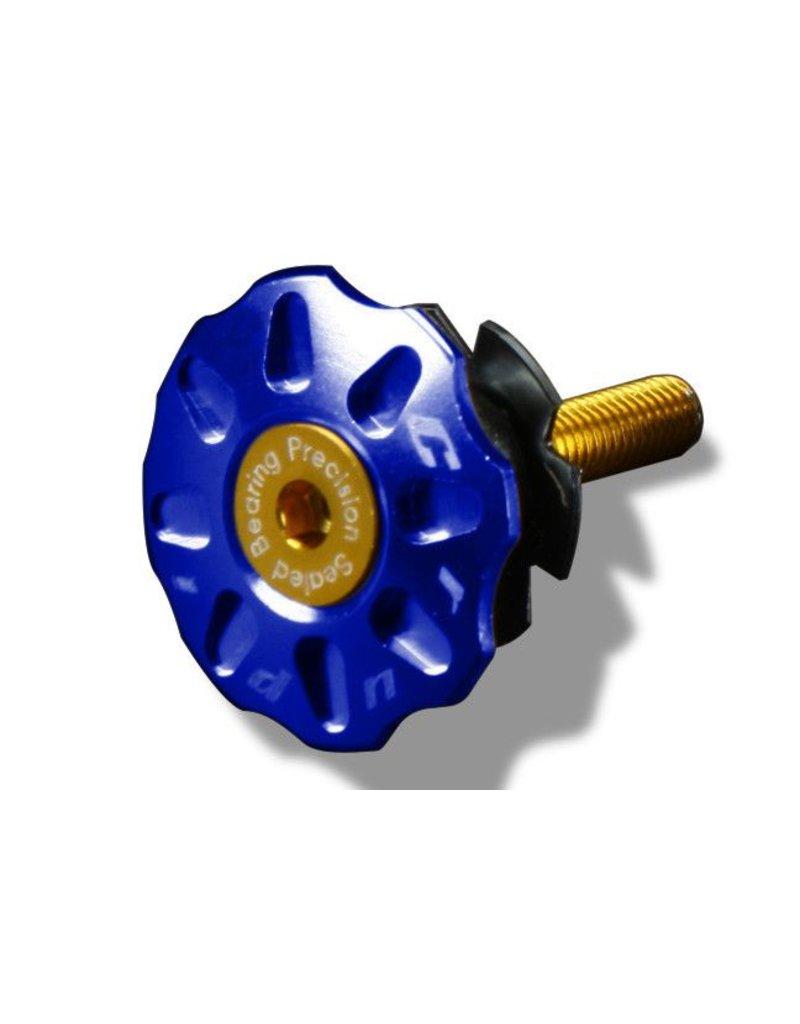Crupi Crupi Headset Top Cap 1-1/8 Blue