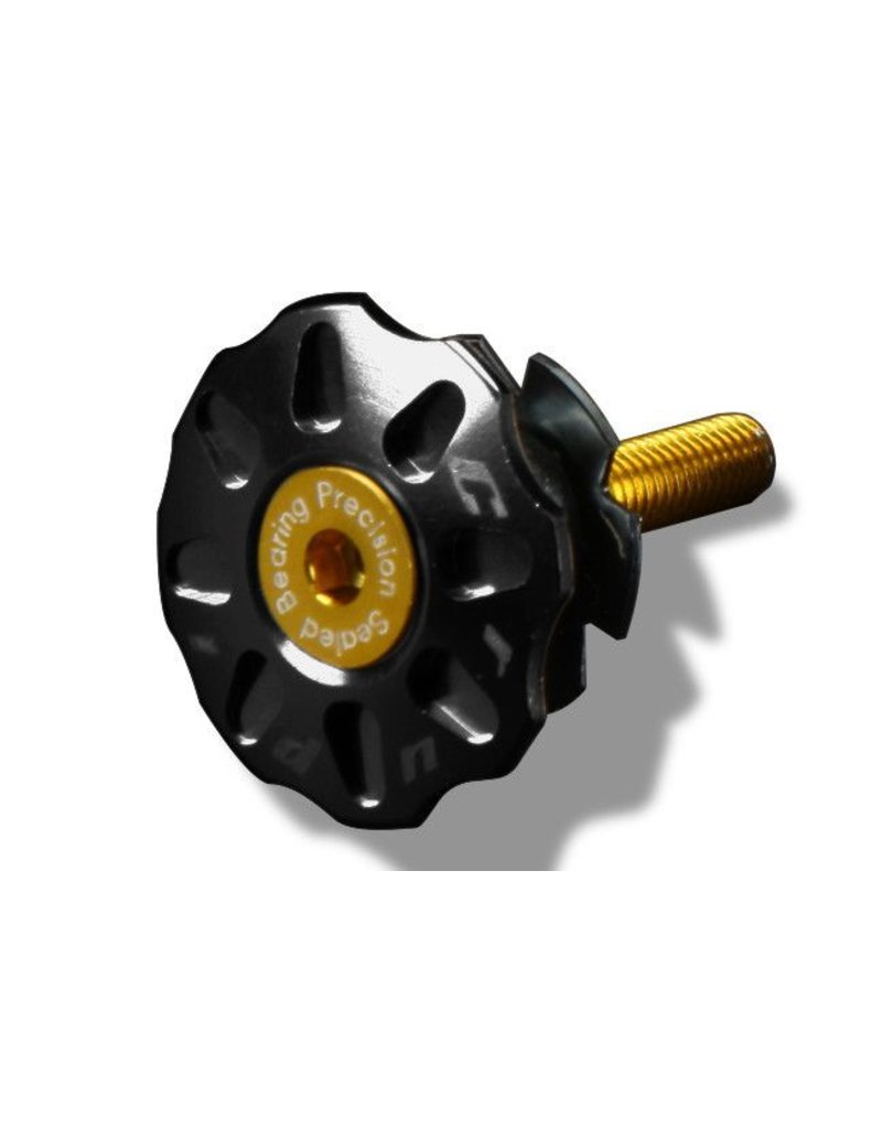 Crupi Crupi Headset Top Cap 1-1/8 Black