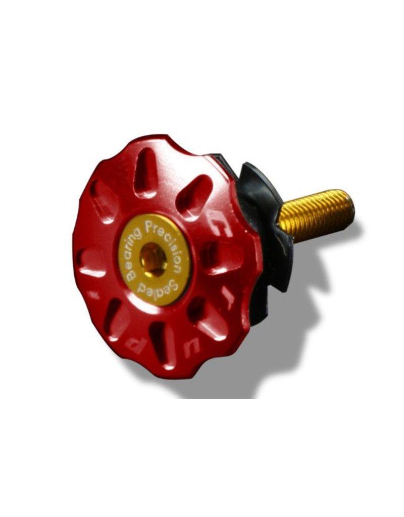Crupi Crupi Headset Top Cap 1-1/8 Red