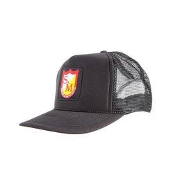 S&M S&M Patch Trucker Black Hat