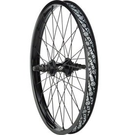 "Salt Salt Rookie 20"" Rear Cassette Wheel, 14mm Axle, RHD 9t Driver, Black"