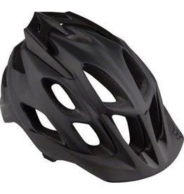 Fox Racing Fox Racing Flux Helmet: Matte Black LG/XL