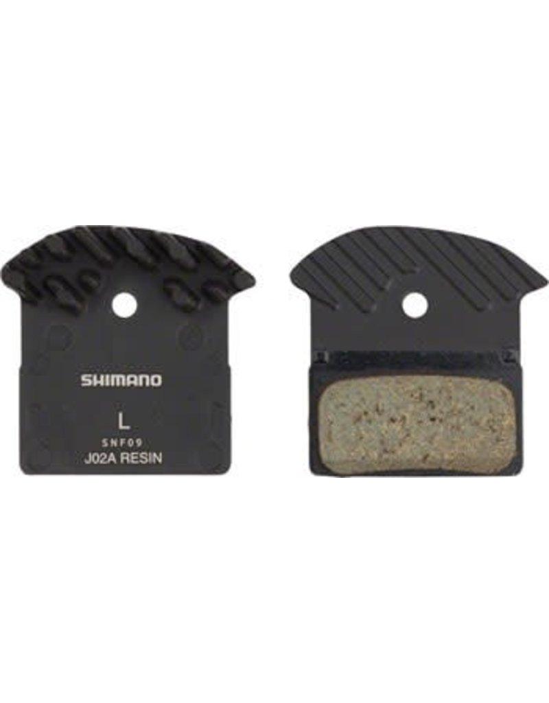 Shimano Shimano J02A Resin Pad & Spring w/ Fin for XTR M9020 M985, XT M8000 M785, SLX M675 Disc Calipers