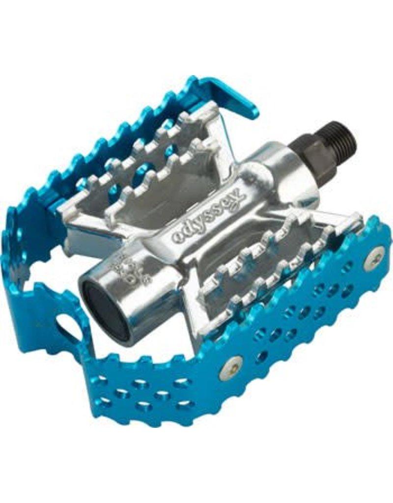 Odyssey Odyssey Triple Trap Pedals Blue