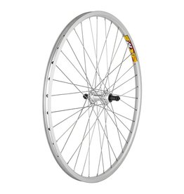 26x1.5 (559x19) Weinmann Rear Wheel Zac19 Silver 36h, Freewheel 5/6/7sp, QR 135mm, SS2.0