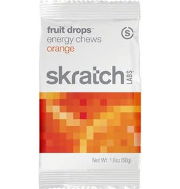 Skratch Labs Skratch Labs Fruit Drops Energy Chews: Orange, Each