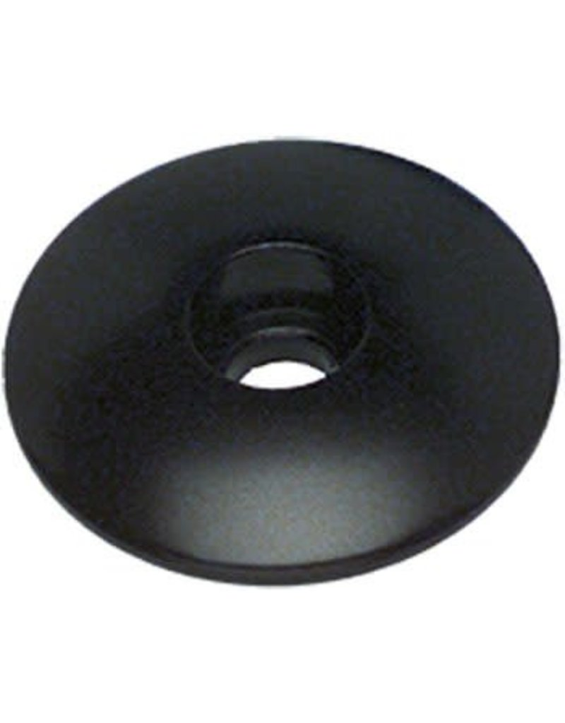 "Problem Solvers Top Cap for Alloy/Chromoly Steerers 1-1/8"" Black"