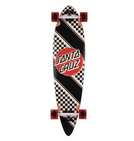 Santa Cruz 9.58x39 Check Stripe Pintail Santa Cruz Cruiser Skateboard