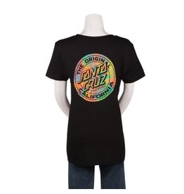 Santa Cruz California Prisma Dot Fitted S/S Santa Cruz Small Womens T-Shirt