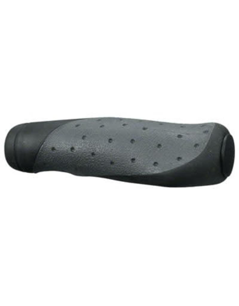 Velo Velo Handlz-D2W Ergo Mountain Grips: Gray/Black