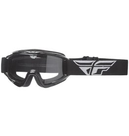 Fly Racing Fly Racing Goggle Focus Black, Clear Lens