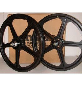 "Skyway Skyway Tuffs 20"" Wheel Set Black Freewheel"