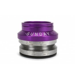 Sunday Sunday Headset Integrated 1-1/8 Purple