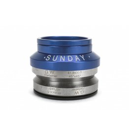 Sunday Sunday Headset Integrated 1-1/8 Blue