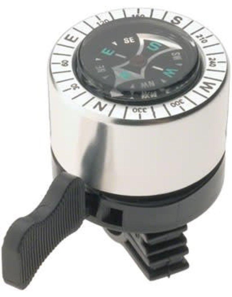 Dimension Compass Bell: Silver/Black