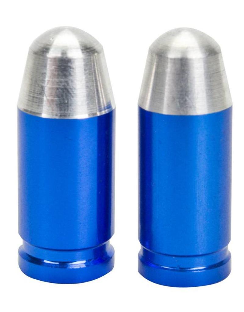 Trik Topz Trik Topz Bullet Tip Blue Valve Caps 1pr