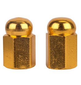 Trik Topz Trik Topz Hex Dome Gold 1pr