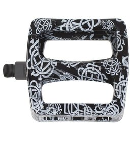 Odyssey Odyssey Twisted Pro PC Pedals Monogram Print Black