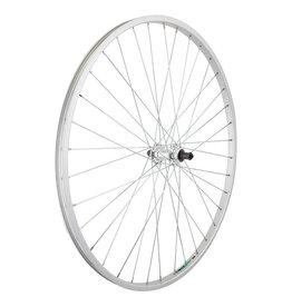 27x1-1/4 (630x19) Rear Wheel Silver 36h Fw 5/6/7sp QR Silver 126mm 14gUCP