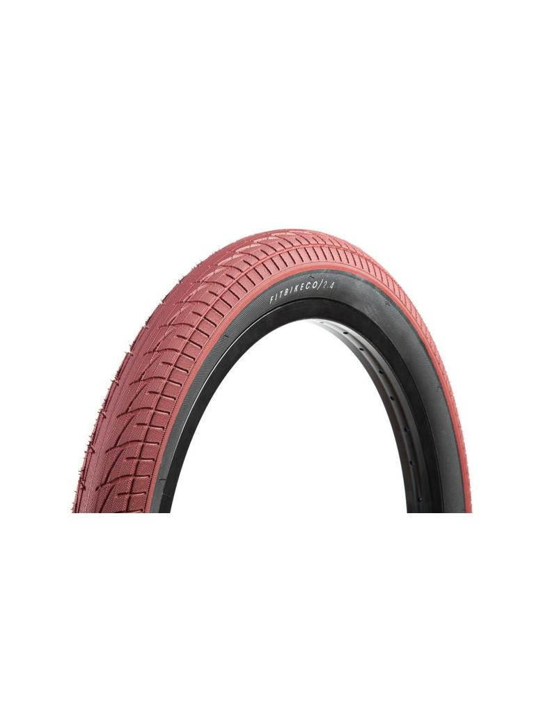 Fit Bike Co 20x2.4 FIT Red W/ Black Sidewall