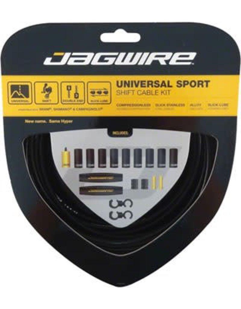 Jagwire Jagwire Universal Sport Shift Cable Kit, Black