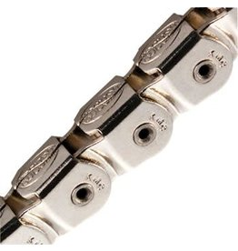 "KMC KMC KK710NP Kool Knight Half-Link Chain: 1/8"" 112 Links Silver"