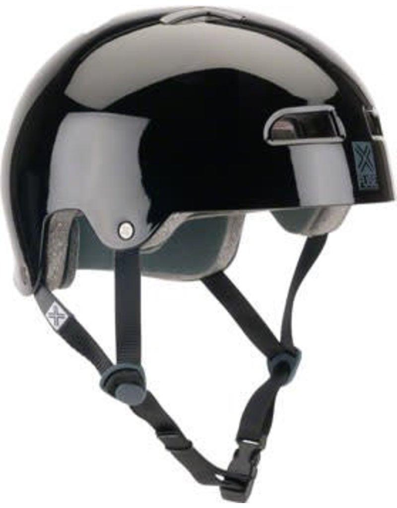 FUSE Fuse Protection Alpha Icon Helmet: MD/LG (57-59cm) Glossy Black