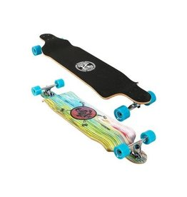 "Karnage Karnage 41"" Drop Down Cruiser Longboard Blue"