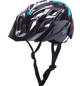Kali Protectives Kali Protectives Chakra Solo Helmet: Neo Black/Blue SM/MD