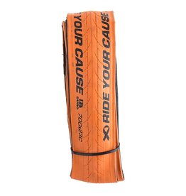 700X23c Duro Stinger Orange Aramid folding bead 127tpi