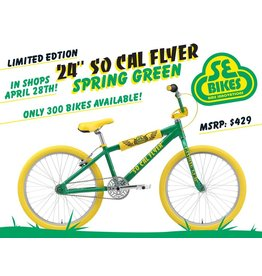 "SE BIKES 2018 SoCal Flyer 24"" Spring Green"