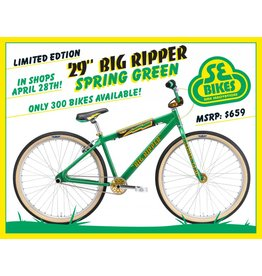 SE BIKES 2018 Big Ripper 29 Spring Green