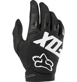 Fox Racing Fox Racing Dirtpaw Men's Full Finger Glove: Black LG