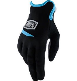 100% 100% Ridecamp Women's Glove: Black XL