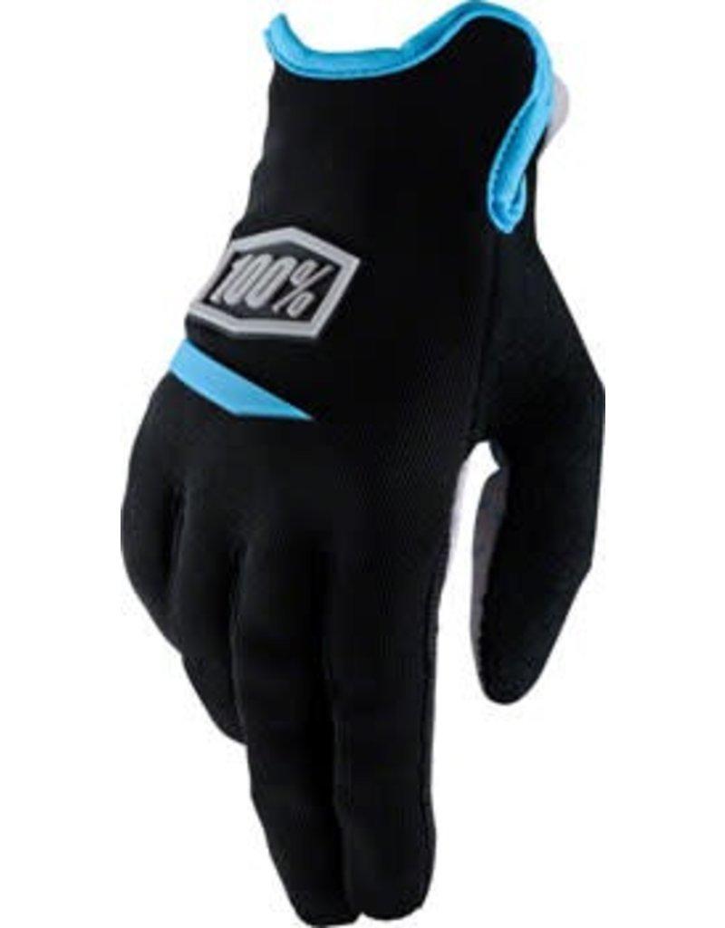 100% 100% Ridecamp Women's Glove: Black XL
