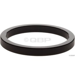 "Wheels Manufacturing 5mm 1-1/2"" Headset Spacer Black Each"