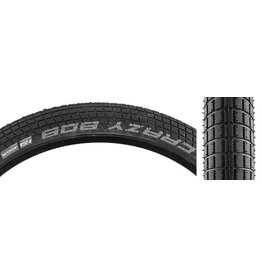 Schwalbe 26x2.35 Schwalbe Crazy Bob, Clincher, Addix Performance, E-50, 67TPI, Black