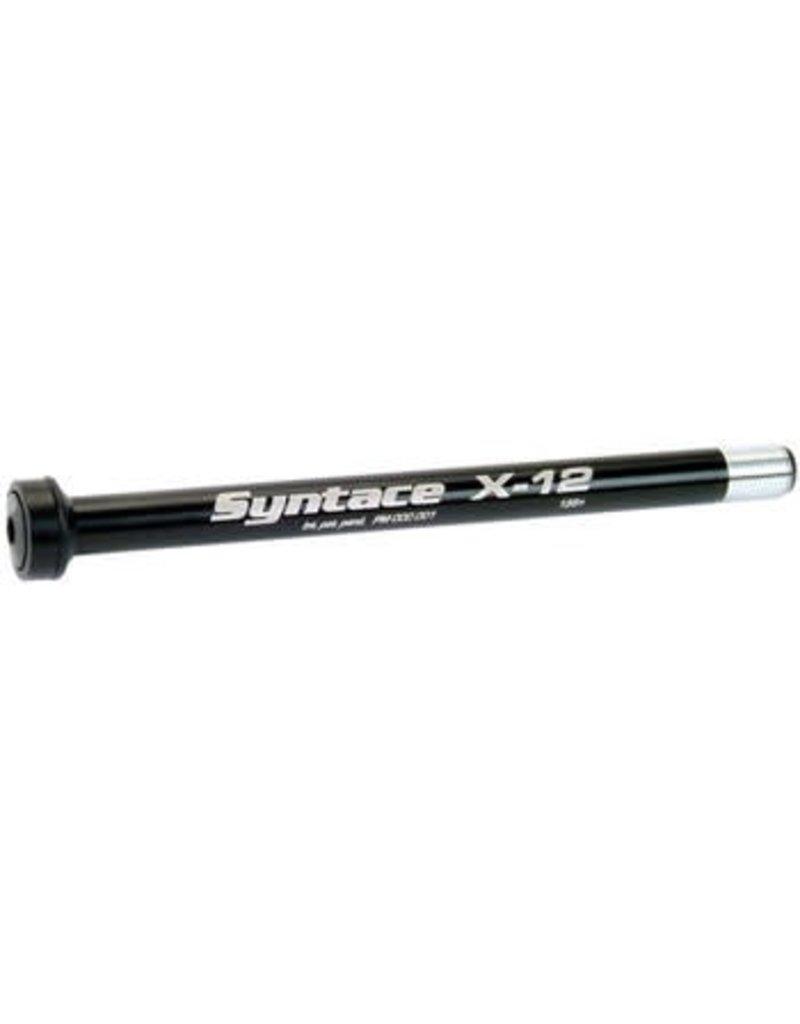 Syntace Syntace X-12 Rear Thru-Axle: 142x12mm, Black