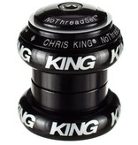 "Chris King Chris King NoThreadSet Headset, 1-1/8""  Black Sotto Voce"