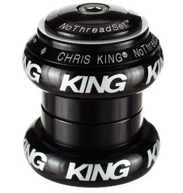 "Chris King Chris King NoThreadSet Headset, 1-1/8""  Black Sotto Voce"