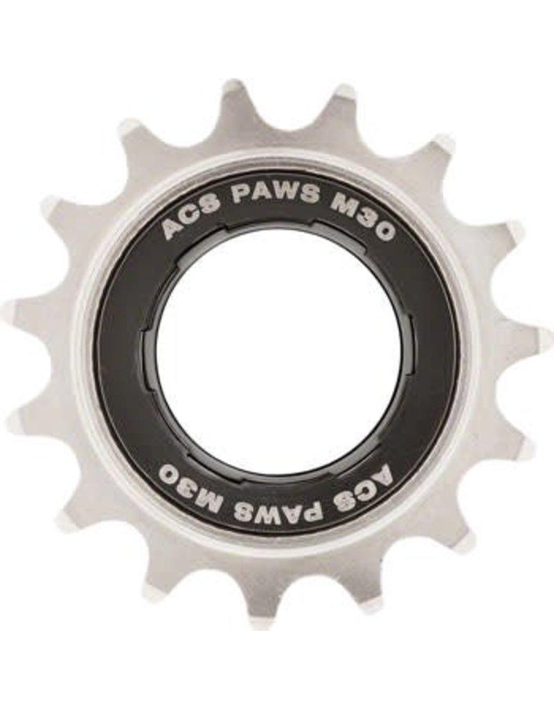 """ACS ACS PAWS M30 Freewheel, 15T 3/32"""", Nickel"""
